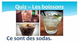 Quiz les boissons + article partitif en français - Quiz about drinks + partitive article in French