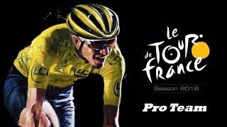 Tour de France 2016 - Test : le mode Pro Team [FR]
