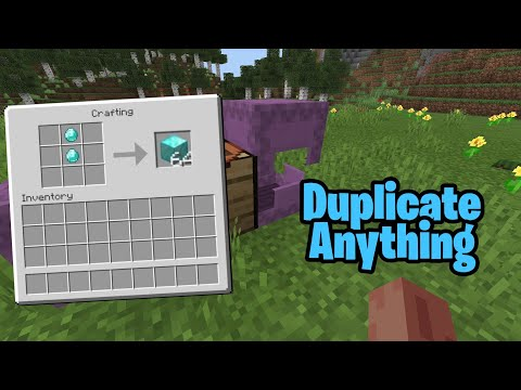 Duplicate Anything In Minecraft! (Minecraft Duplication Glitch) Ps4/Xbox/PC