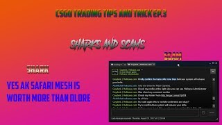 CS:GO Trading Tips and Tricks EP.3: Sharks and Scams