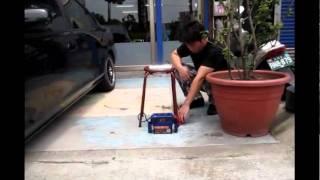 (虎耀汽車精品)-日行燈 測試亮度影片(室外)
