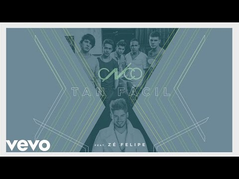 CNCO, Zé Felipe - Tan Fácil (Spanish-Portuguese Version)[Cover Audio]