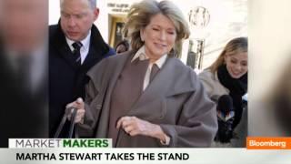 Martha Stewart Takes the Stand Amid Media Frenzy
