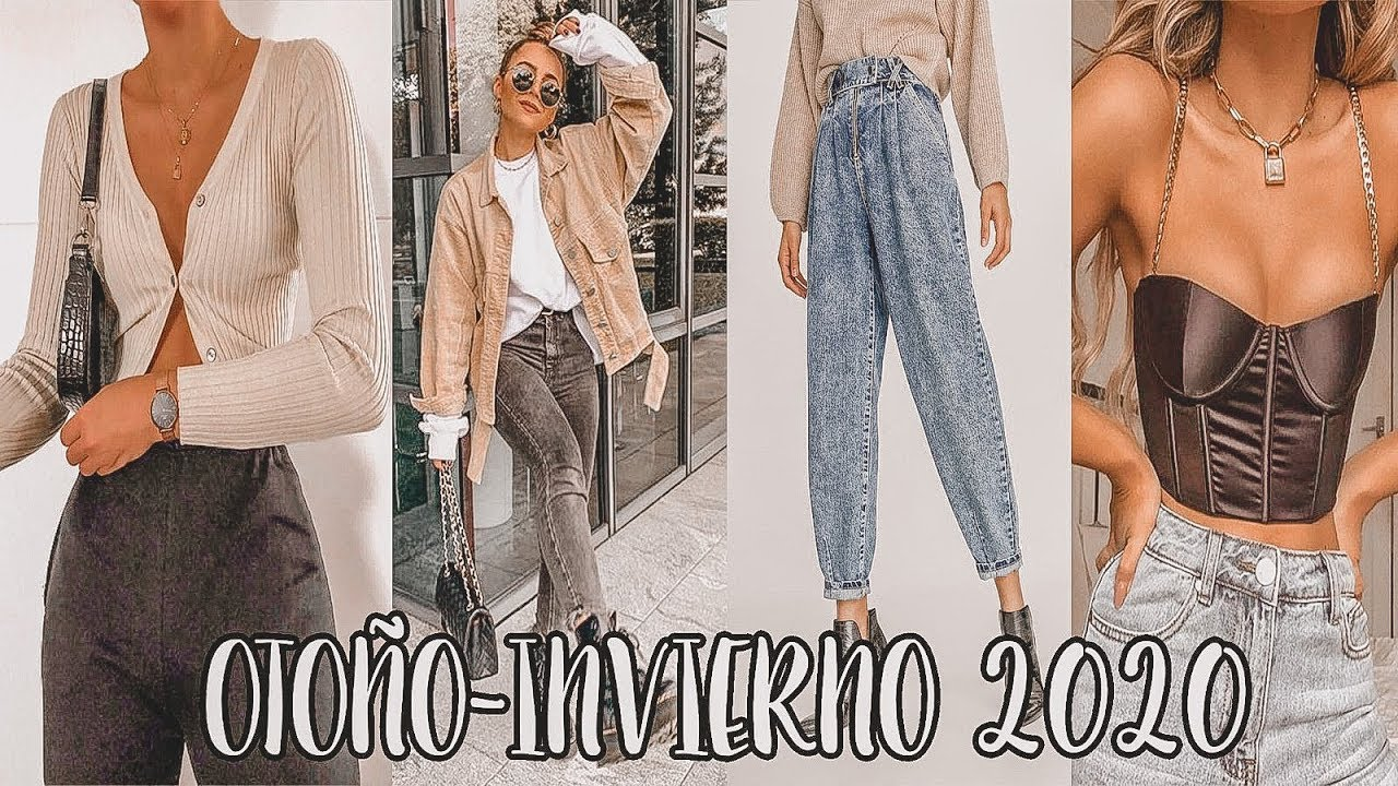 Tendencias Otono Invierno 2020 2021 Youtube