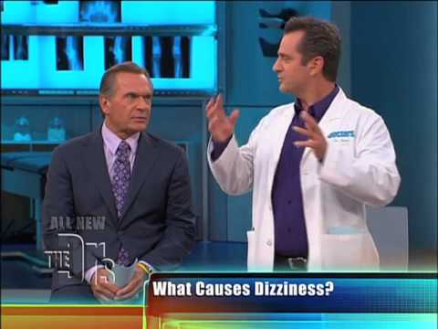 What Makes Us Dizzy?   Dr. Jim Sears explains  The Drs  2012