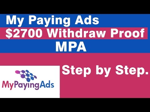 My paying Ads $2700 Withdrawl LIVE.