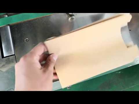 JD 350 sharp bottom paper bag machine for brazil client