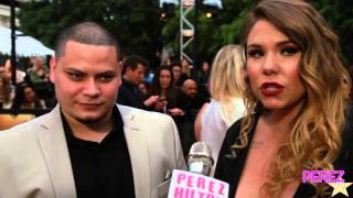 Teen Moms Farrah Abraham and Kailyn Lowry Interview (MTV MOVIE AWARDS RED CARPET)