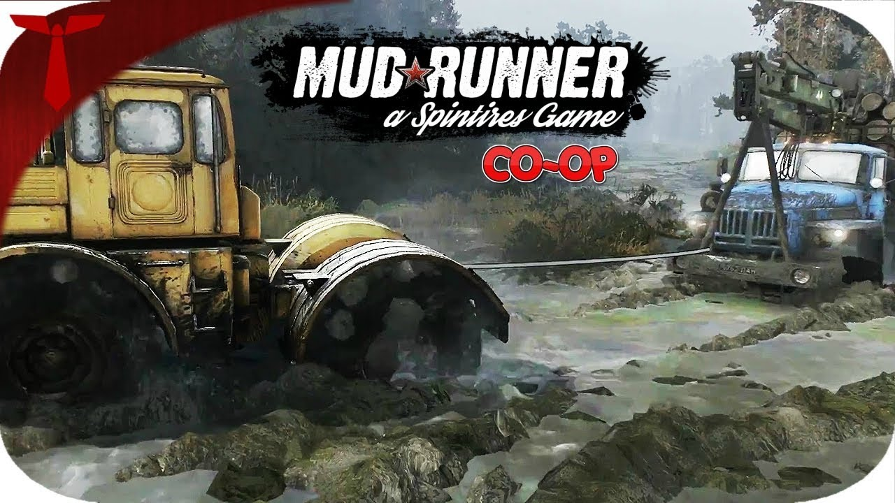 spintires mudrunner xbox one co op youtube. Black Bedroom Furniture Sets. Home Design Ideas