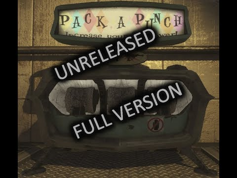 (UNRELEASED FULL VERSION) Pack-A-Punch Jingle - Call Of Duty Zombies   1080p HD