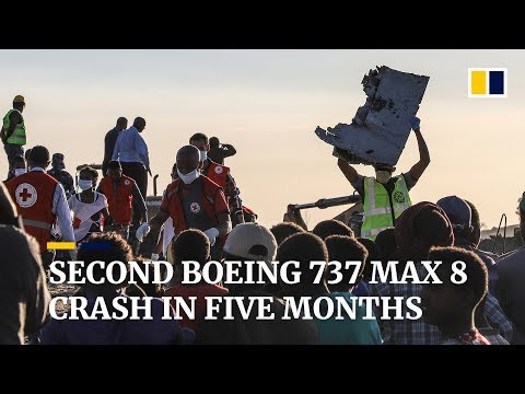 Deadly crash in Ethiopia is second in five months for new Boeing 737 MAX 8 jet