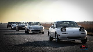 The Mazda MX-5 Story - 4 Generations of Drop-Top