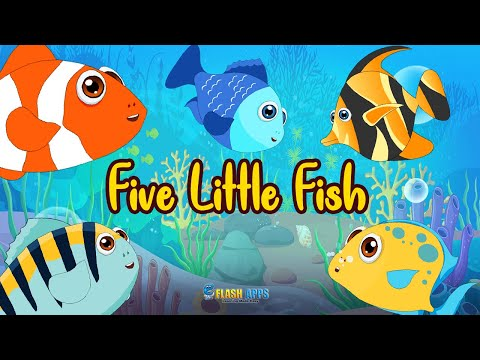 Five Little Fish Nursery Rhymes