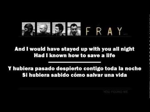 The Fray - How To Save A Life (Lyrics English-Spanish)