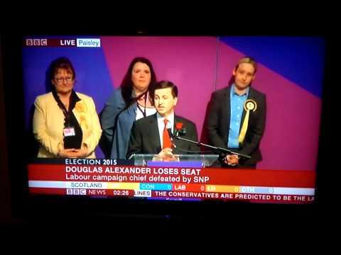 Ex MP Douglas Alexander: defeat speech 2015
