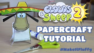 Clouds & Sheep 2 Papercraft Tutorial