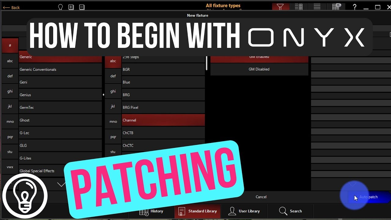 Patching Beginning With Onyx Formerly