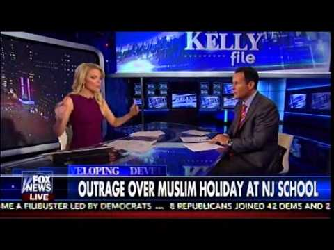 Outrage Over Muslim Holiday In NJ School - The Kelly File