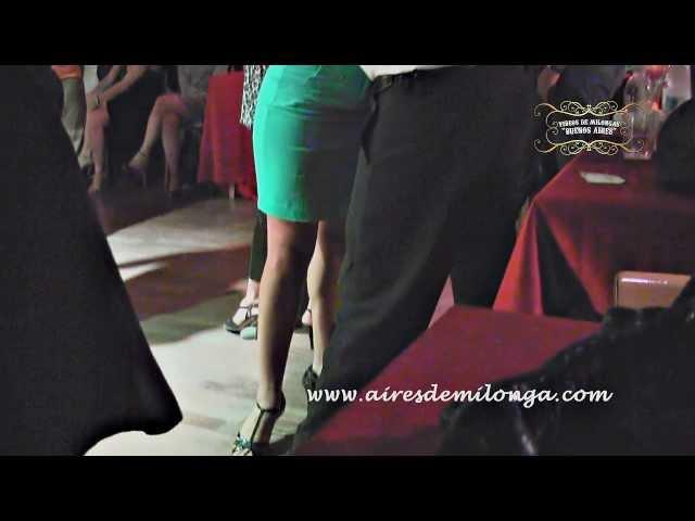 Roma, Milongueando con esta famosa en milonga El Conventiyo, tango en Italia