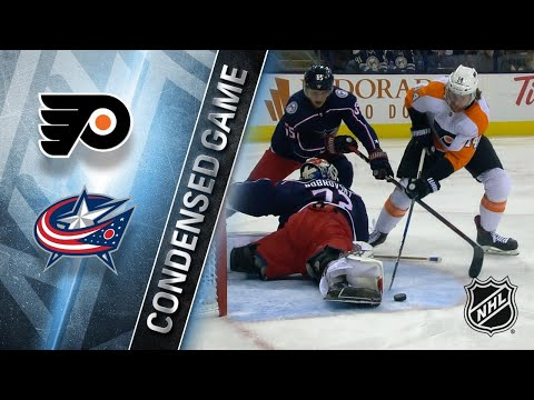 02/16/18 Condensed Game: Flyers @ Blue Jackets