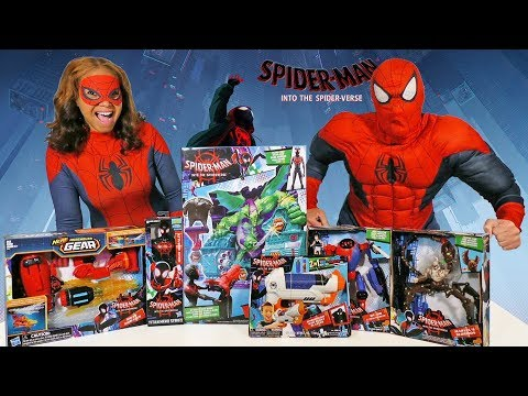 Spider Man Into The Spiderverse Toy Challenge  ! || Toy Review || Konas2002