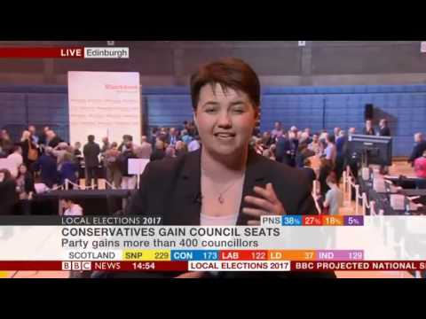 Ruth Davidson on local election results