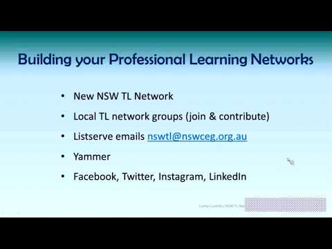 NSW TL Network Practical support for beginning Teacher Librarians Cathy Costello