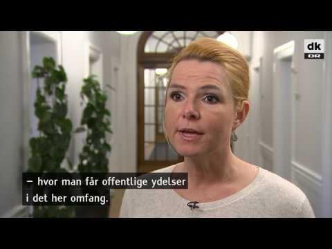 Inger Støjberg: Flere flygtninge i job skyldes lavere ydelser - DR Nyheder