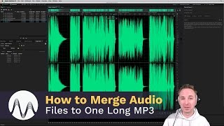 How to Merge Multiple Audio Files Into One Long MP3 File