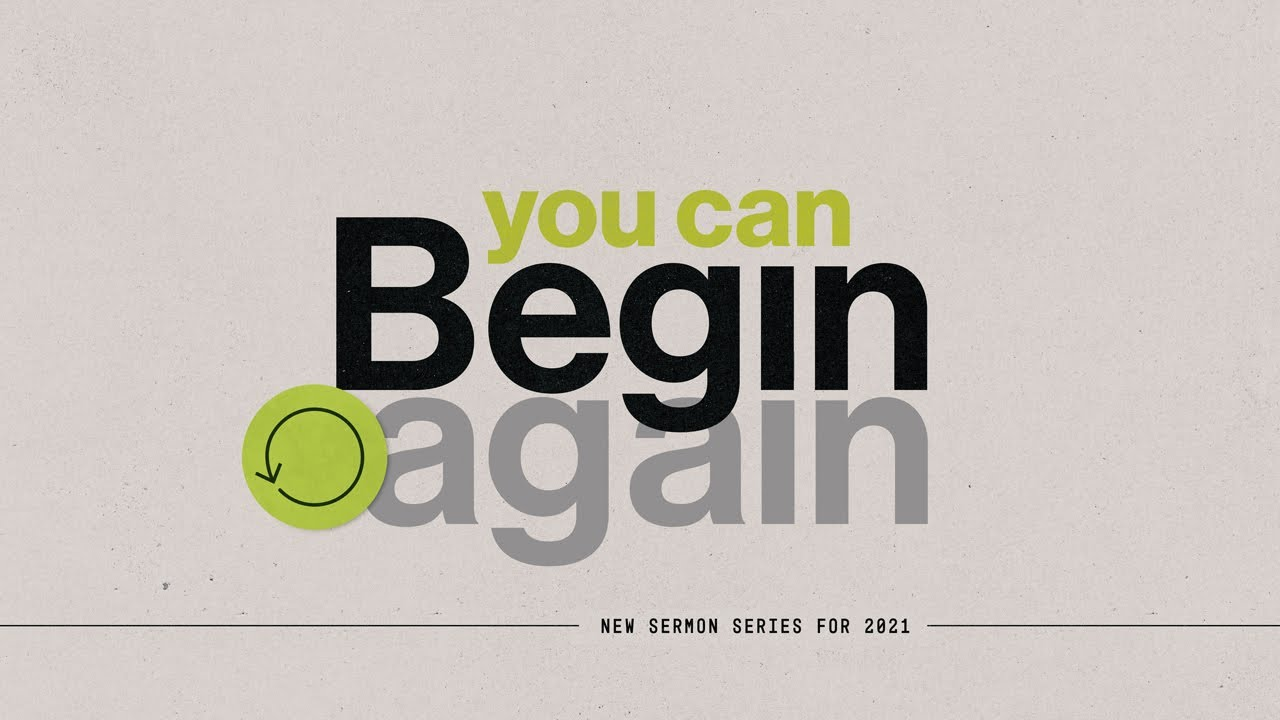 You Can Begin Again: You Don't Have to Give in to Discouragement
