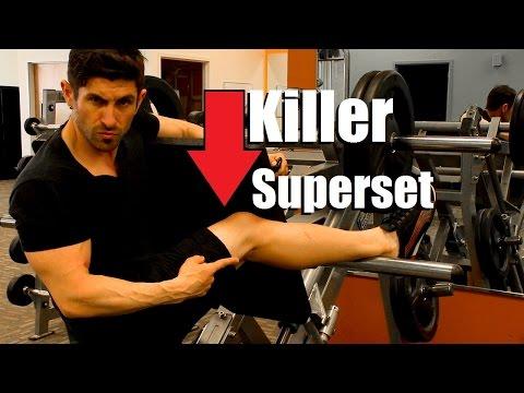 Killer Leg Superset