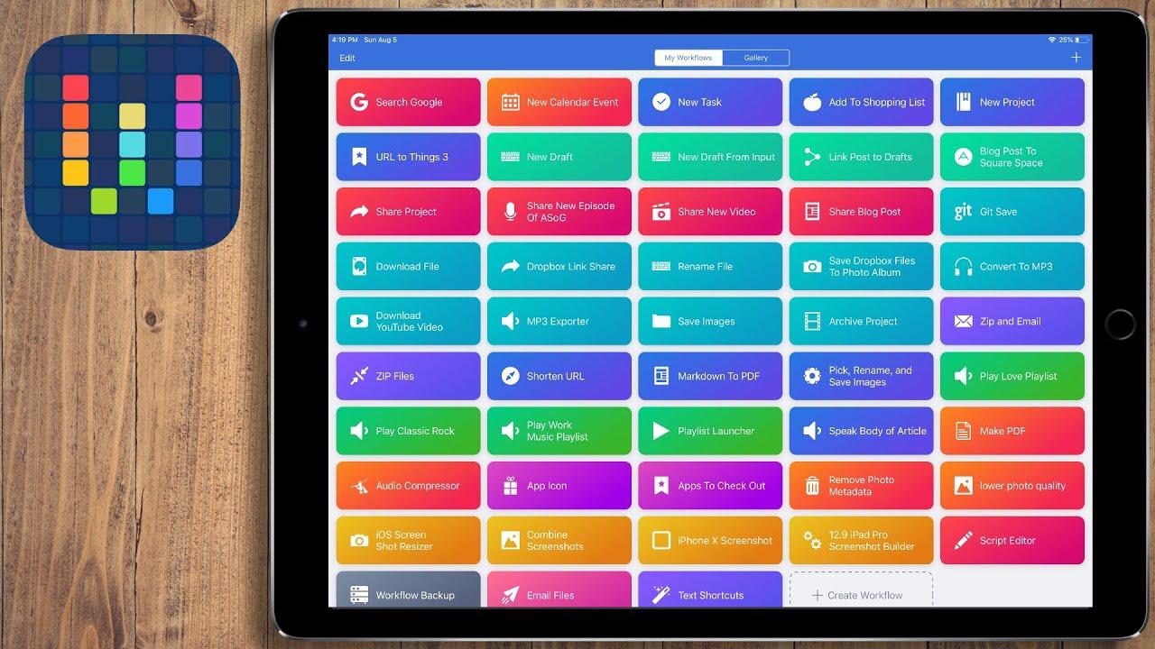iPad Productivity: My Favorite Workflows/Siri Shortcuts