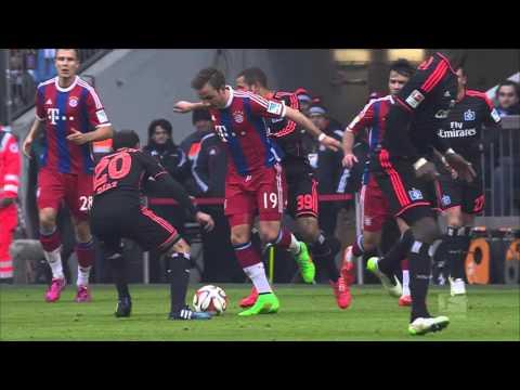 Arjen Robben   Top 5 Goals 2014 15