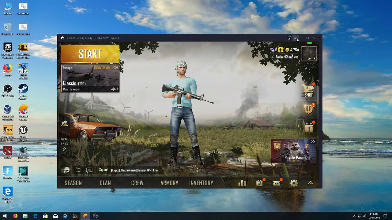 How to fix OBS Black Screen for Tencent Gaming Buddy PUBG Mobile