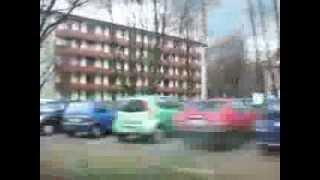 Driving thru Marl, Germany