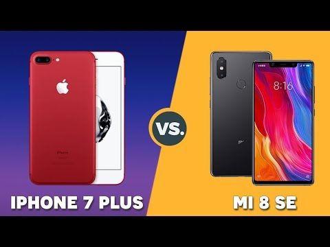 Speedtest iPhone 7 Plus vs Xiaomi Mi 8 SE: Apple A10 Fusion vs Snapdragon 710