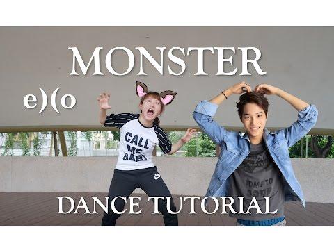 EXO Monster Dance Tutorial   FULL Mirrored [Charissahoo]