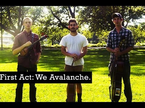QUIET LUNCH MAGAZINE | The First Act: We Avalanche.