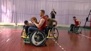 У Львові відкрили секцію гри у баскетбол для людей на візках