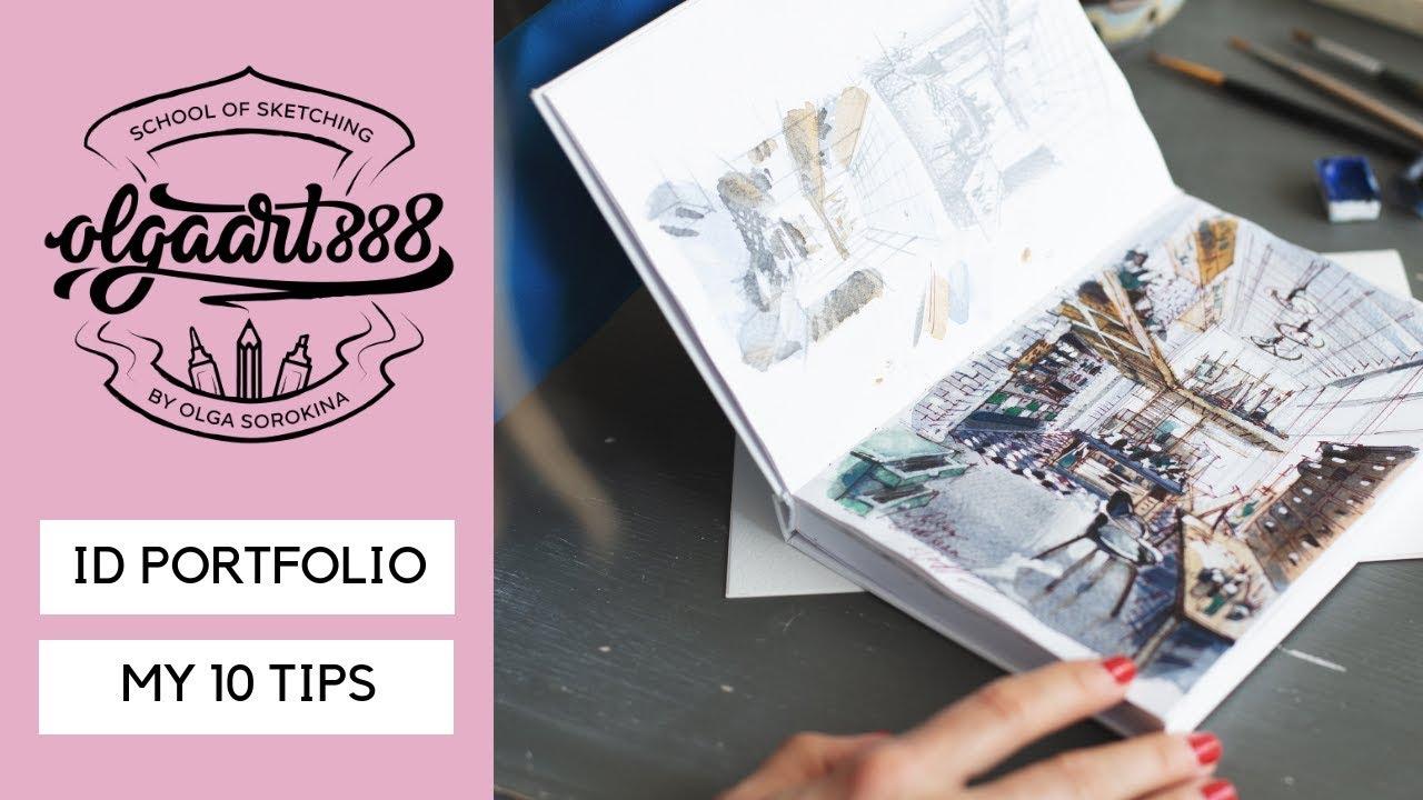 10 Tips How To Create A Great Interior Design Portfolio Example Youtube