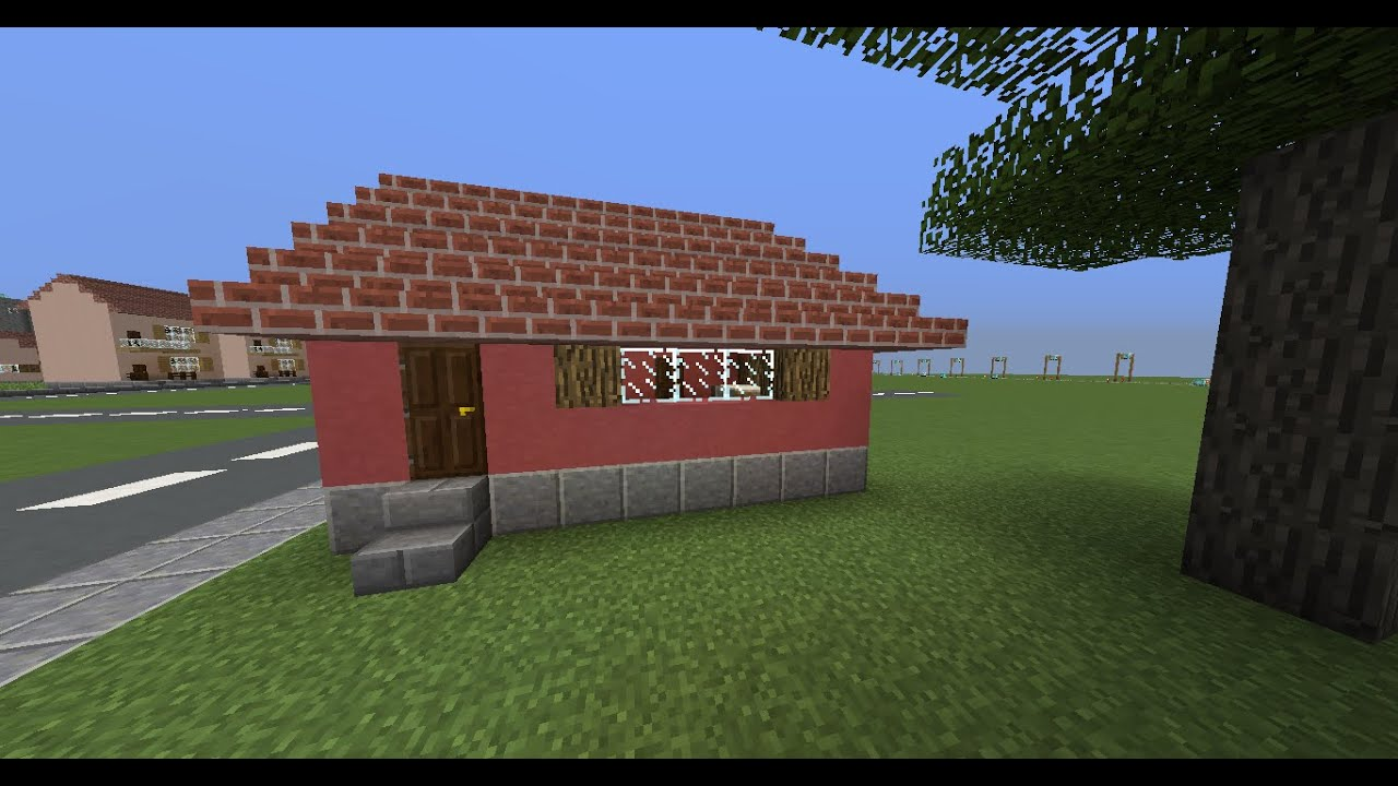 Minecraft how to build a small but cute house youtube for How to build a small home