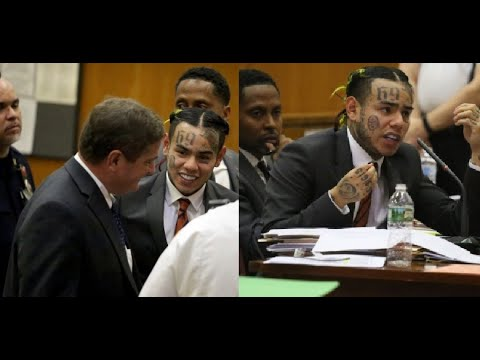 6ix9ine Will be Released Shortly from Prison after Judge declares him 'HIGH RISK' for COVID-19.