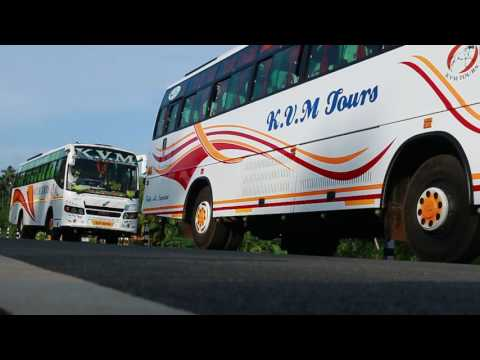 KVM Tours and Travels  in kerala Trivandrum AC FULL AIR BUS