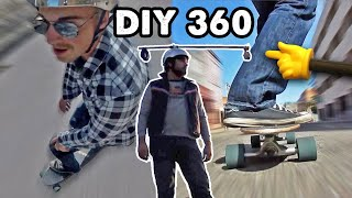 (CHEAP) DIY 360˚ GoPro Camera Helmet Rig | Quick FX