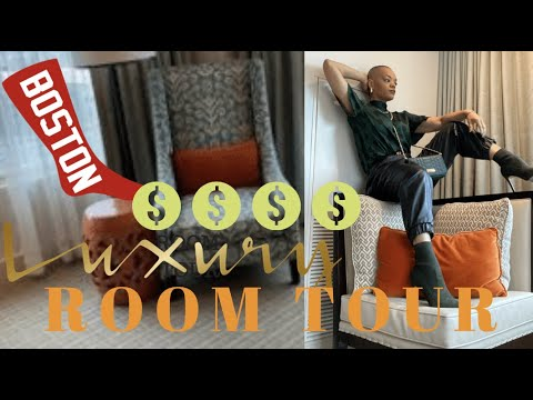 $329 Per Night In Boston + Luxury Hotel Room Tour