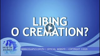 Ed Lapiz - LIBING O CREMATION /Latest Sermon Review New Video (Official Channel 2020)