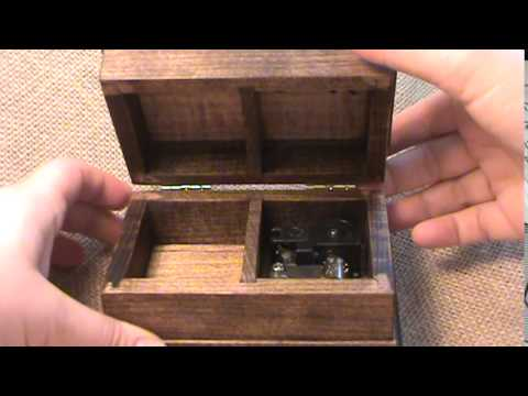The Entertainer music box