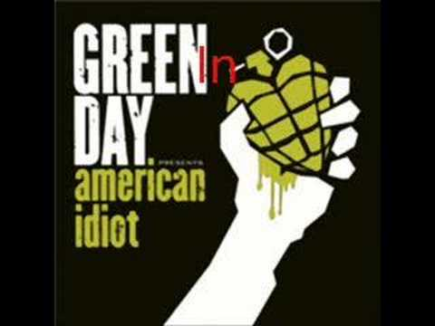 """Holiday"" By Green Day"