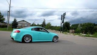 500hp turbo g35 coupe full throttle amazing sound