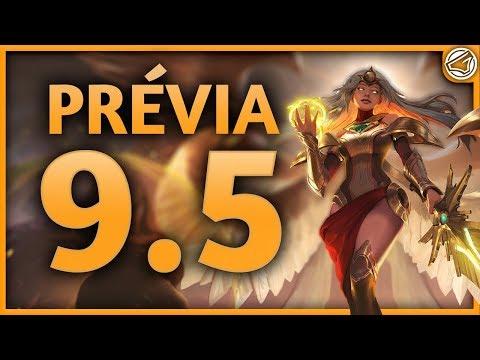 Prévia do Patch 9.5 ▪ Buffs, Nerfs e Reworks ▪ League Of Legends thumbnail